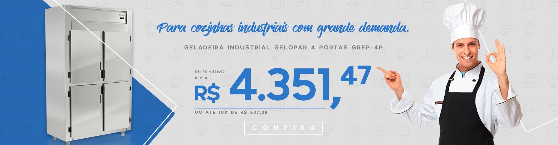 Geladeira Industrial GREP-4P
