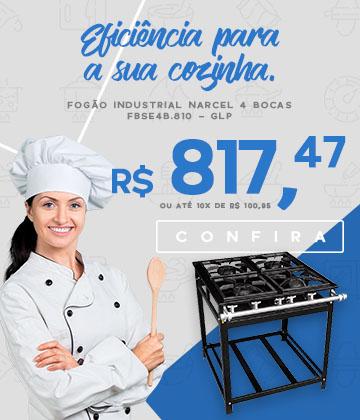 Fogão Industrial FBSE4B.810