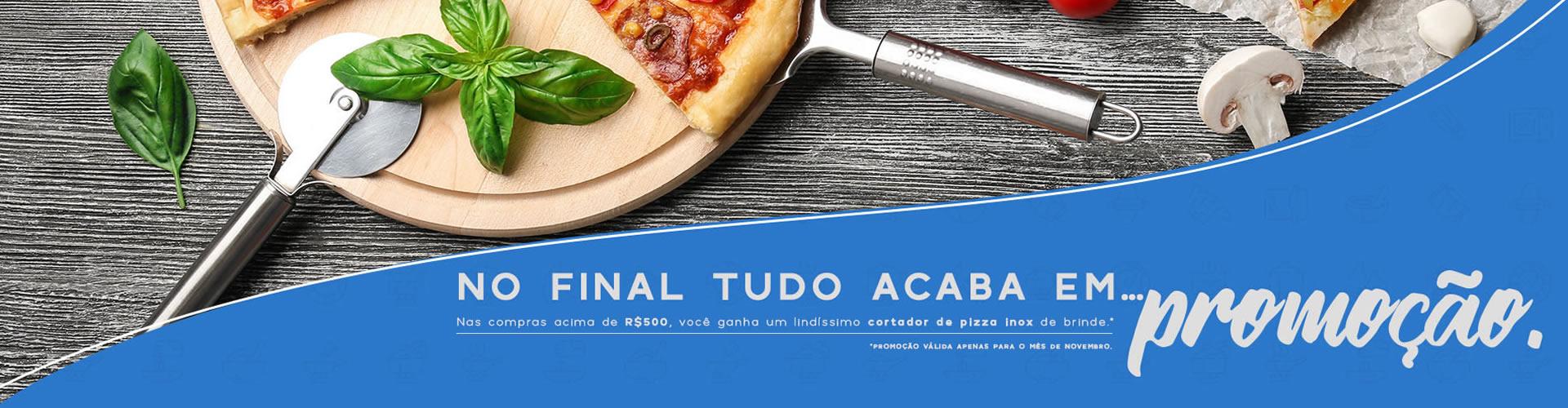 promoção cortador de pizza